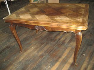 187a French Provincial Refractory Table photo