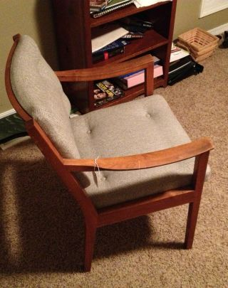 Midcentury W.  H.  Gunlocke Chair photo