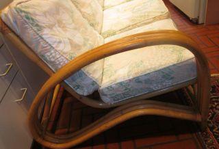 Sensational Bamboo 3 - Piece Sofa - Mid - Century photo