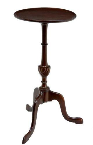 Early 20th Century Mahoagany Lamp Table photo