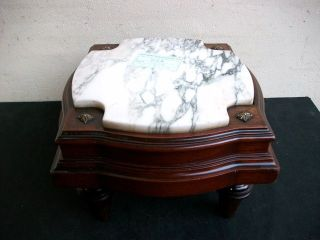 Antique French Louis Xv Small Pedestal 07029 photo