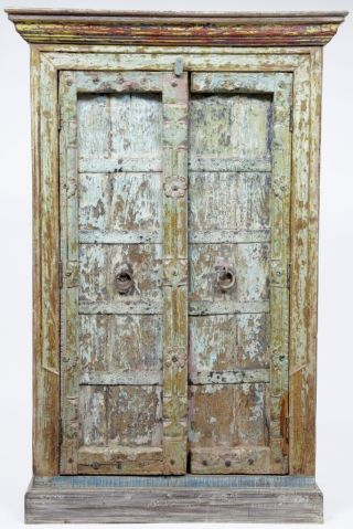 Stunning Cabinet Made From Reclaimed Material photo