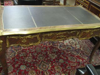 19th Century Antique French Bronze Mount Table photo