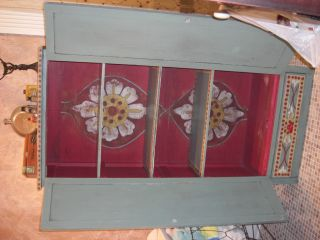 Cabinet,  From 1920 ' S Hand Painted Artist