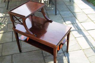 Mersman Antique Step Table photo