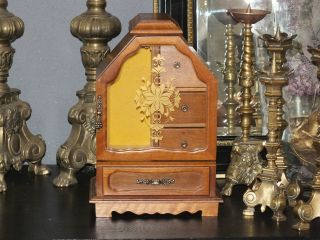 Old French Jewelry Cabinet - photo
