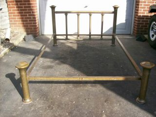 Antique Double Brass Bed photo