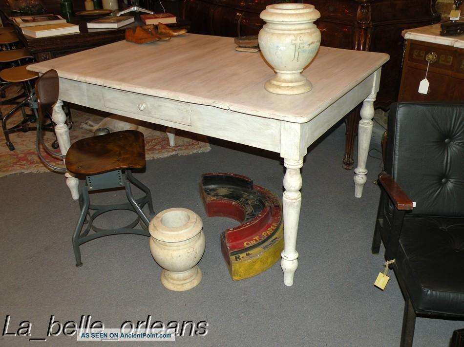1900s Kitchen Pics http://ancientpoint.com/inf/75475-early_1900s_italian_farmkitchen_table___great_patina.html