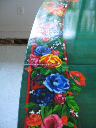 Awesome Farm Table Hand Painted In San Rafael California photo