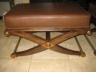 Baker/ Regency Bench 2 Available 2of 2 photo
