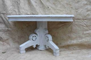 Victorian Console Hall Table photo