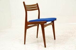 4 Teak Chairs By Johannes Andersen photo