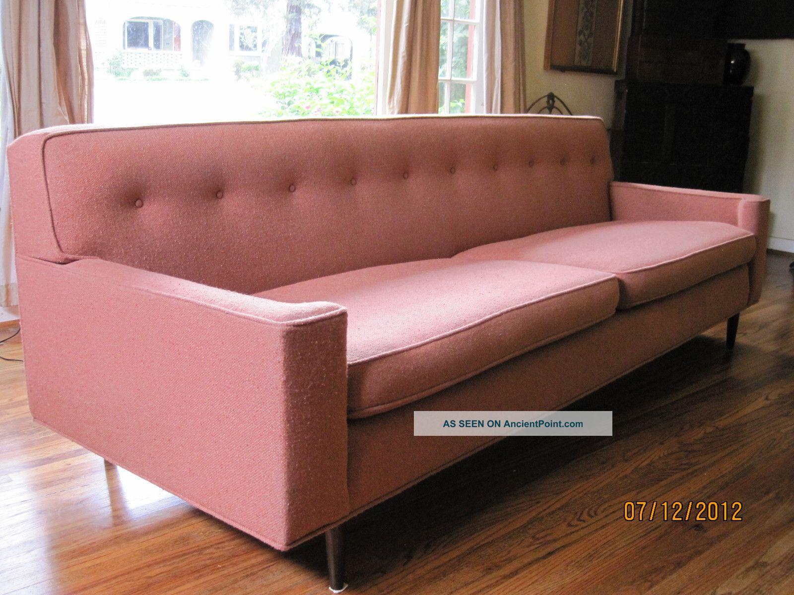 Wormley Dunbar Mid Century Modern Vintage Sofa