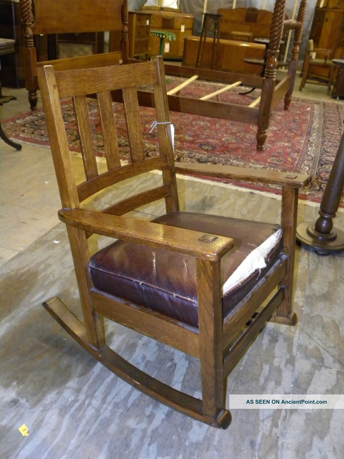 Antique Rocking Chair Styles ~ Antique oak rocking chair styles mission style