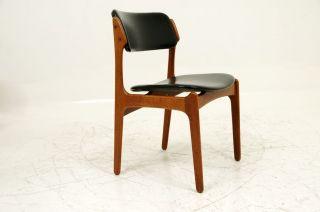 4 Teak Chairs By Erik Buck photo