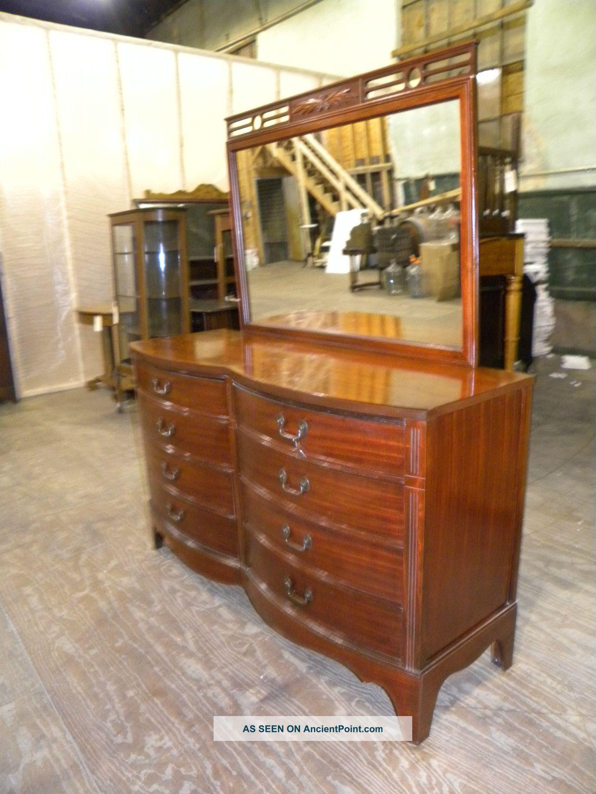 Dixie Bedroom Furniture Antique Mahogany Full Queen Bedroom Suite