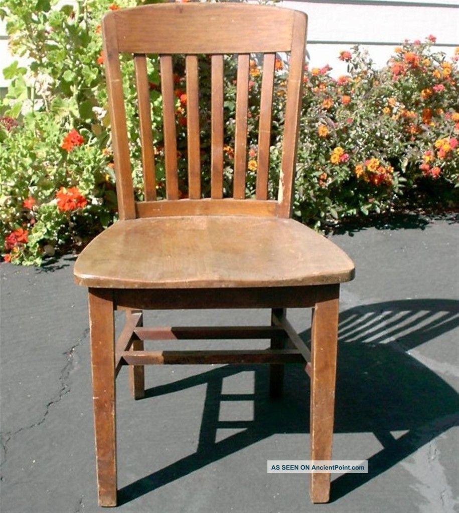 vintage wooden office chair. Vintage Antique Wooden Desk Chair Walnut Wood High Point Bending Office School