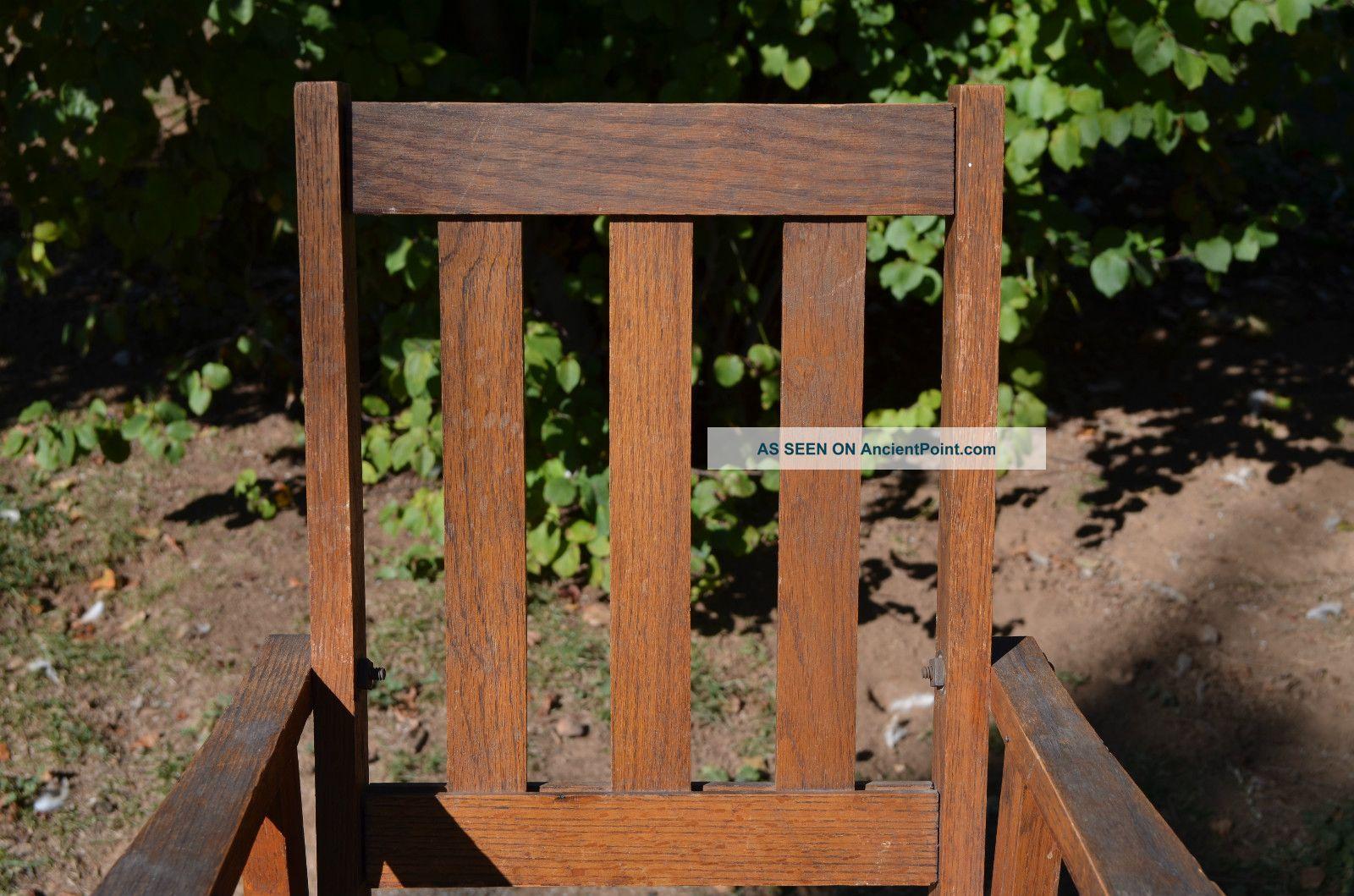 Mission Style Oak Rocking Chair Pub Chair Furniture Plans