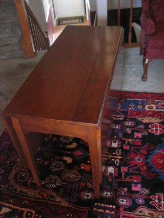 Antique Solid Mahogany Drop - Leaf Table - 19th Century photo