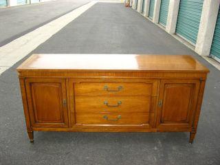 Drexel Vintage Mid Century Modern Low Profile Credenza Sideboard Plasmatv Stand photo