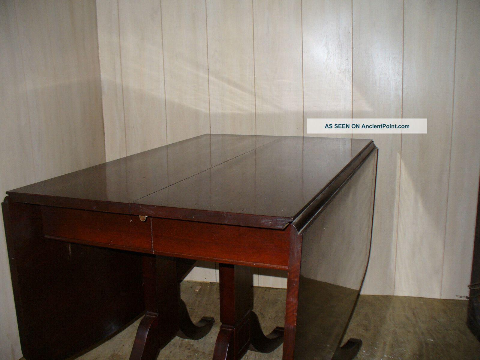 Dining Table Tell City Mahogany Dining Table