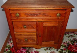 Mission Style Oak Dresser Circa 1920 ' S - 1930 ' S photo