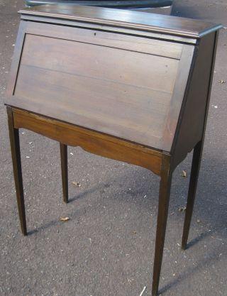 Antique Secretary Desk photo