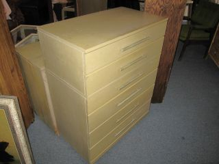 Vintage Mengel 6 And 4 Drawer Dresser Set photo