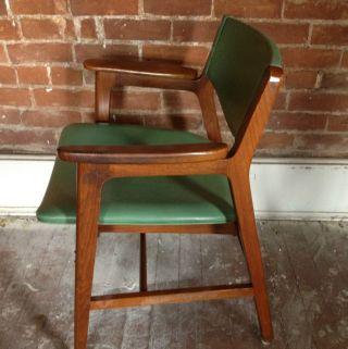 Danish Modern Mid Century Modern Gunlocke Co.  Chair Eams Era photo