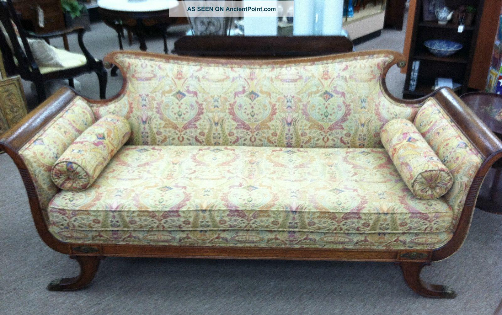 Antique Duncan Phyfe Sofa Images Antique Victorian Sofa