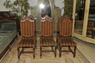 Spanish Dining Chairs Set Of 6 Chairs photo