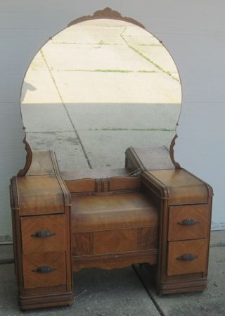 Antique Vanity Dressing Table photo