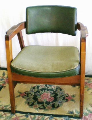 Danish Modern Chair W.  H.  Gunlocke Mid Century Modern Chair No.  21 - C photo