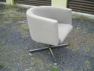Vintage Danish Modern Stendig Finland Lounge Chair Dining Office Desk Eames Era photo