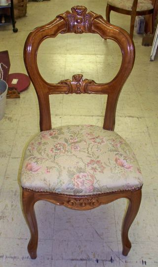 Antique Balloon Back Victorian Chairs. .  Condition,  Set Of 6 photo