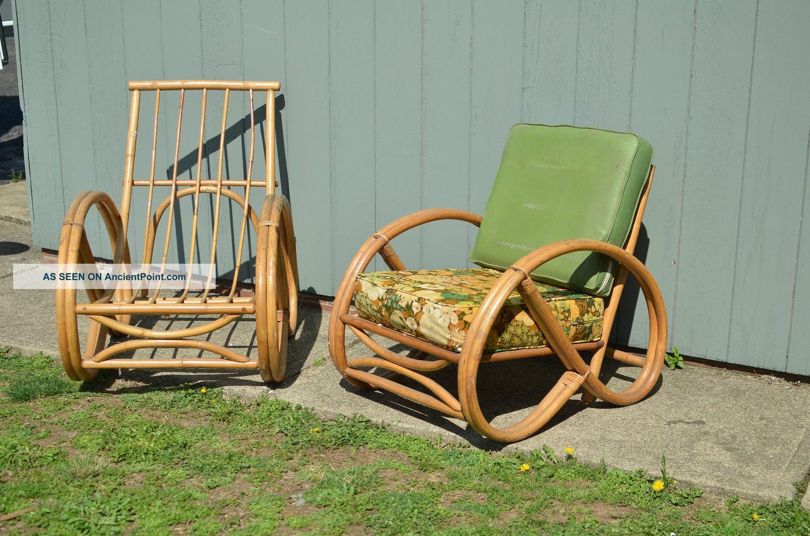 Vintage Bamboo Patio Furniture
