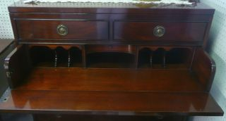 Johnson Furniture Co.  - Grand Rapids Michigan Mahogany Butler ' S Chest - Desk photo