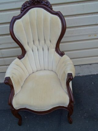 50165 Victorian Furniture Armchair Chair photo