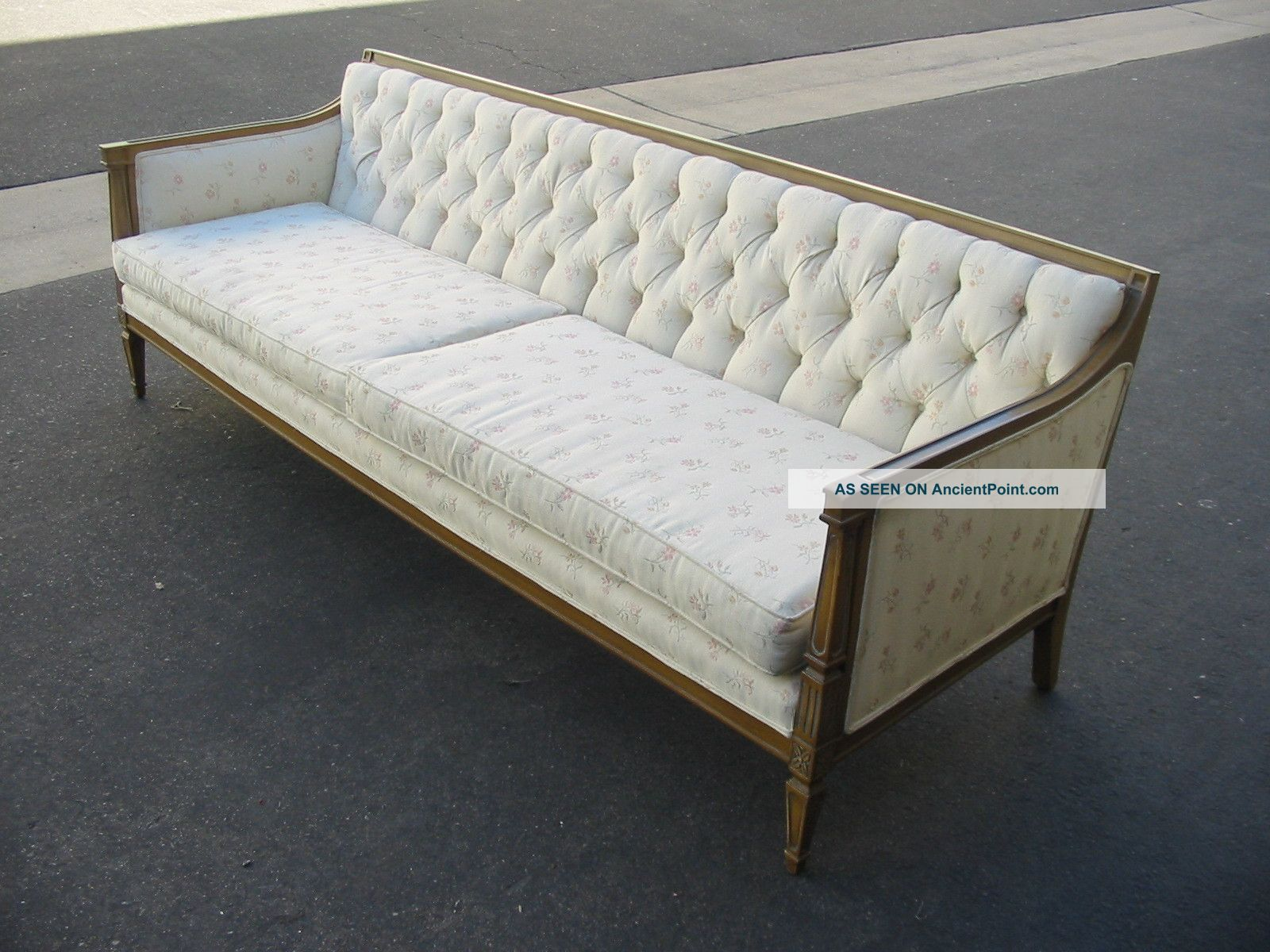 vintage shabby couch tisch artownit for. Black Bedroom Furniture Sets. Home Design Ideas