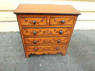 Ss Miniature Decorator Dresser Chest photo