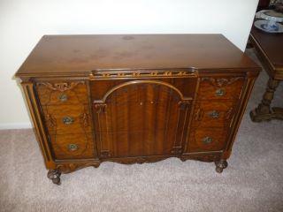 1934 Vintage Dresser In photo