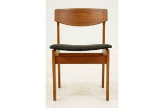 Set 4 Borge Mogensen Oak Chairs photo