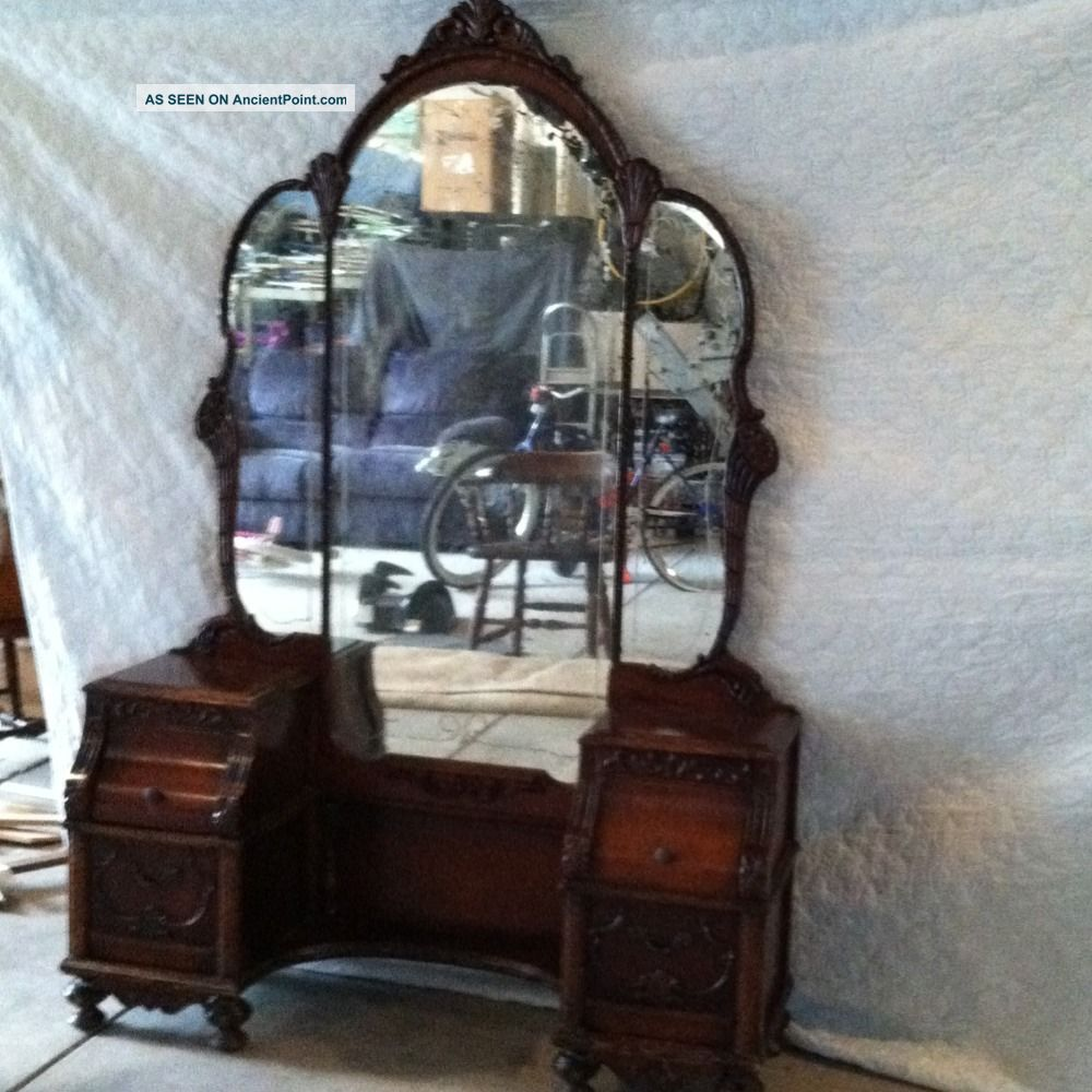 Victorian dressing table -  Deco Vanity Dressing Table Middot Antique Dressing Table Victorian