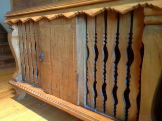 Wood Cabinet / Credenza From The Philippines Rooster Cabinet photo