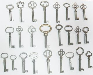 25 Antique Furniture Keys Cabinet Keys Antique Barrel Keys photo