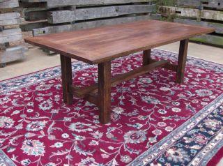 Antique (re - Claimed Wood) Oak Reproduction Farm Table photo
