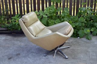 Mid - Century Modern Overman Danish Style Modern Lounge Chair Vintage Eames photo