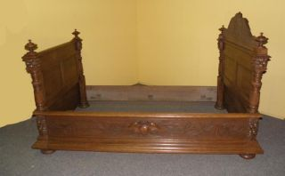 French Hunt Day Bed Wall Bed photo