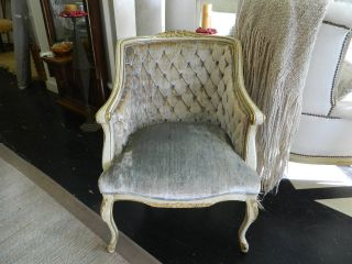 French Side Chairs Finish - Cream/gold photo