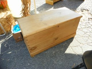 Antique English Pine Chest Circa 1880 ' S Sale Priced photo